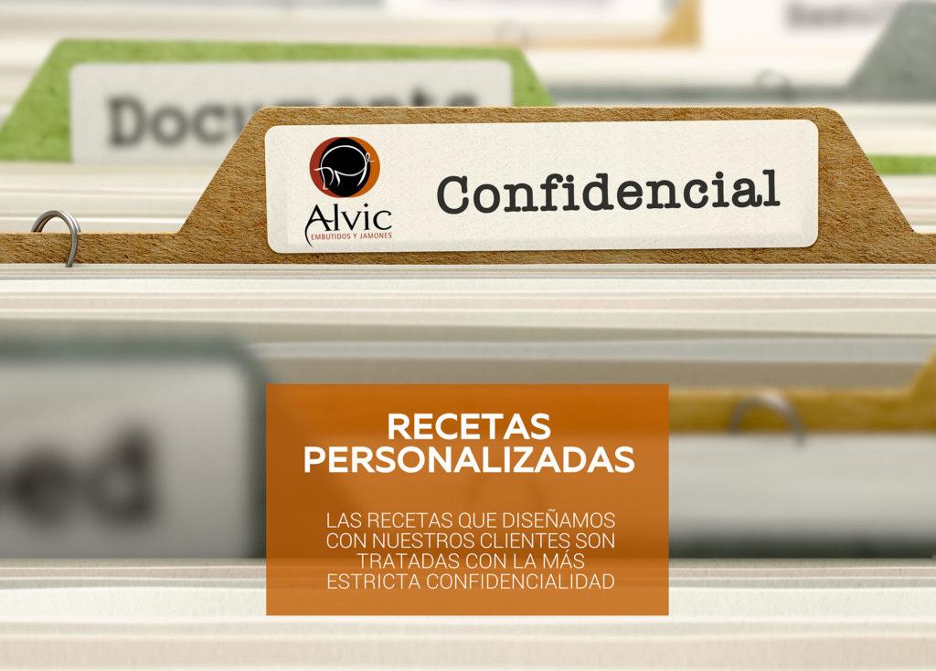 Recetas personalizadas Alvic